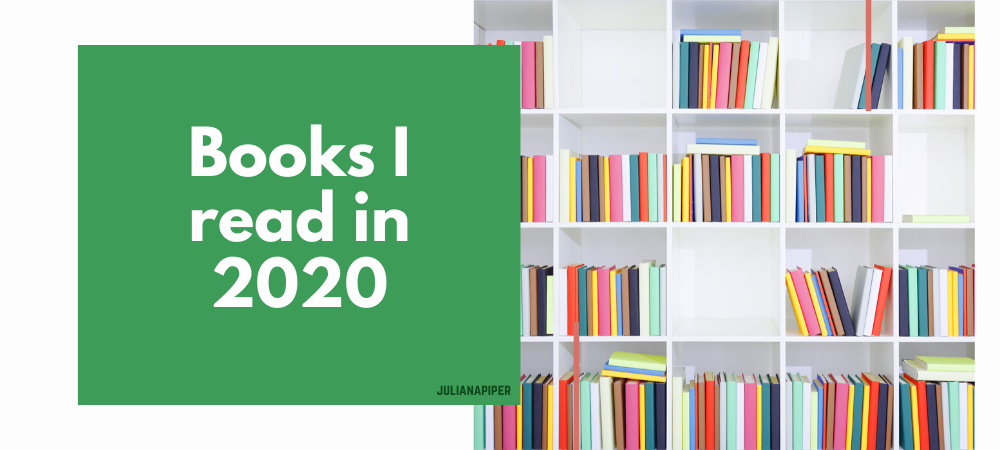 Books I read in 2020